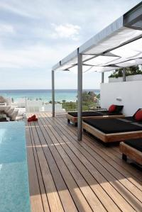 Rooftop with Ocean View and Pool
