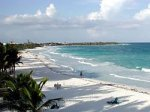 come and see the beach in playa del carmen